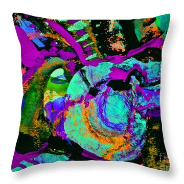 Death Study-5 Throw Pillow