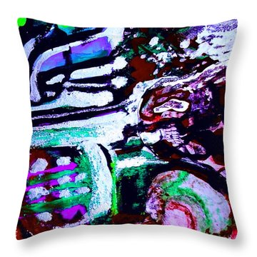 Death Study-6 Throw Pillow