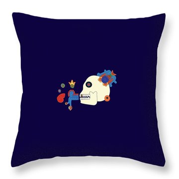 Death The Advisor Throw Pillow