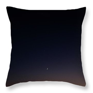 Death Valley - Last Light On The Desert Throw Pillow by Christine Till