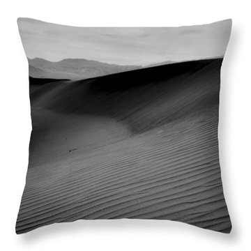 Death Valley Dunes 1 Throw Pillow