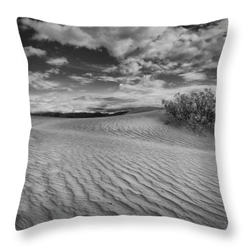 Death Valley Dunes 2 Throw Pillow
