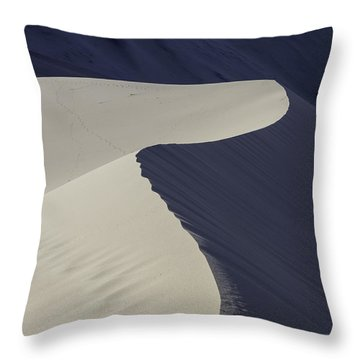 Death Valley Sand Dune Throw Pillow