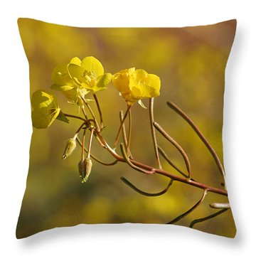 Death Valley Superbloom 301 Throw Pillow