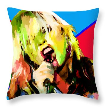 Debbie Harry Collection - 1 Throw Pillow