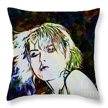 Debbie Harry Collection - 4 Throw Pillow