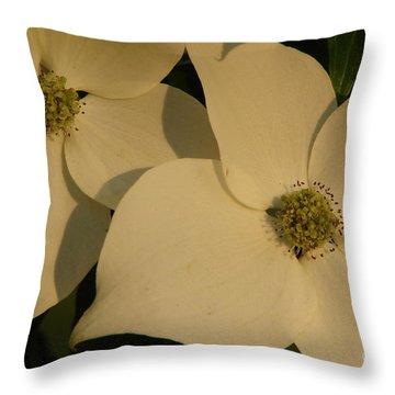 Deborah Throw Pillow by Priscilla Richardson