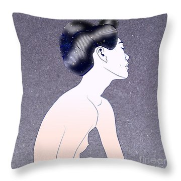 Debutante Throw Pillow