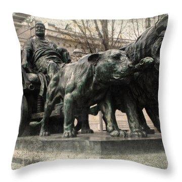 Decadent Roman Throw Pillow