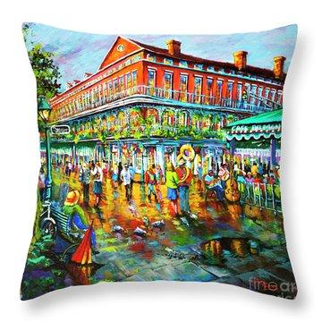Decatur Evening Throw Pillow