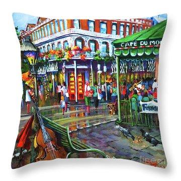 Decatur Street Throw Pillow