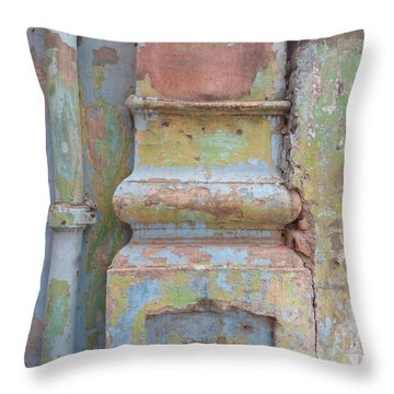 Throw Pillow featuring the photograph Decay by Jean luc Comperat