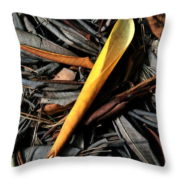 Throw Pillow featuring the digital art Decay by Julian Perry
