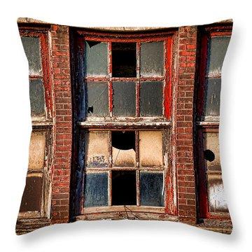Decayed Throw Pillow