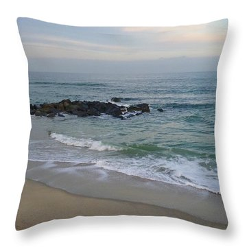 December Evening Throw Pillow
