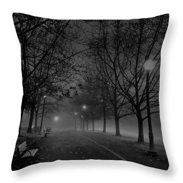 December Morning In Riverfront Park - Spokane Washington Throw Pillow