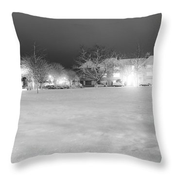 December Time Throw Pillow by Svetlana Sewell