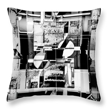 Decentralized Throw Pillow