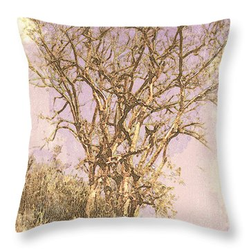 Deciduous Throw Pillow