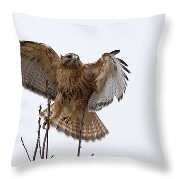 Decisive  Moment Throw Pillow