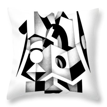 Decline And Fall 1 Throw Pillow