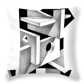 Decline And Fall 10 Throw Pillow
