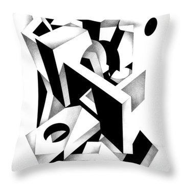 Decline And Fall 11 Throw Pillow
