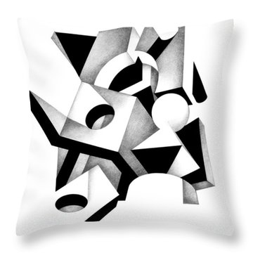 Decline And Fall 12 Throw Pillow