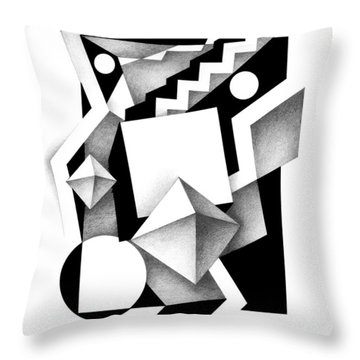 Decline And Fall 13 Throw Pillow