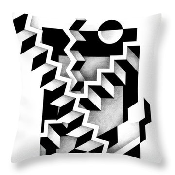 Decline And Fall 14 Throw Pillow