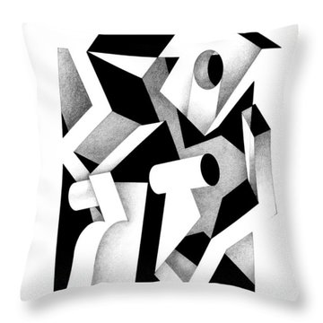 Decline And Fall 17 Throw Pillow