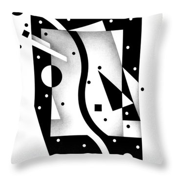 Decline And Fall 18 Throw Pillow