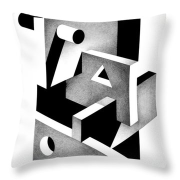 Decline And Fall 19 Throw Pillow
