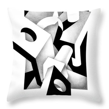 Decline And Fall 2 Throw Pillow