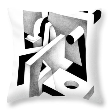 Decline And Fall 20 Throw Pillow