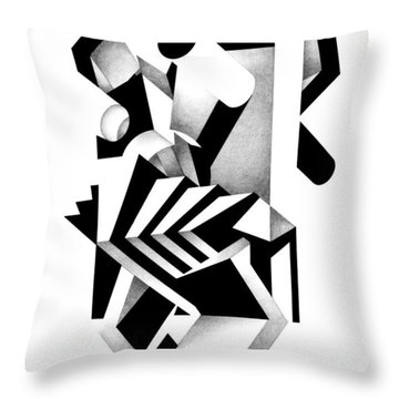 Decline And Fall 21 Throw Pillow