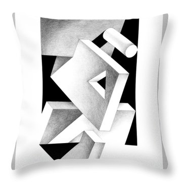Decline And Fall 4 Throw Pillow