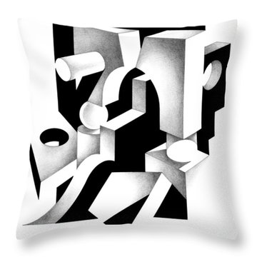 Decline And Fall 5 Throw Pillow