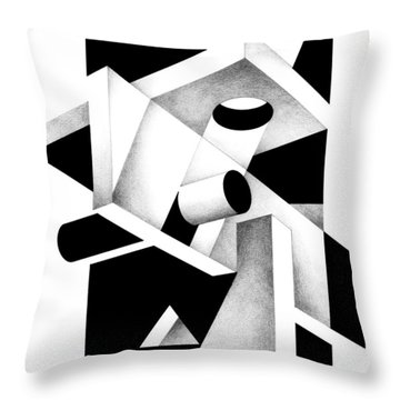 Decline And Fall 7 Throw Pillow