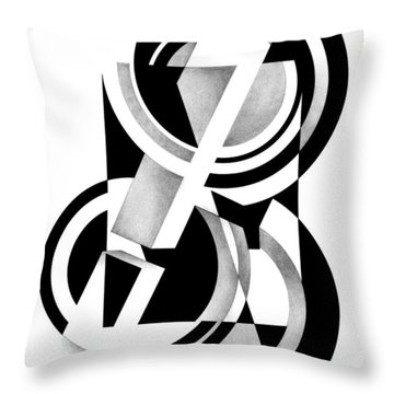Decline And Fall 9 Throw Pillow
