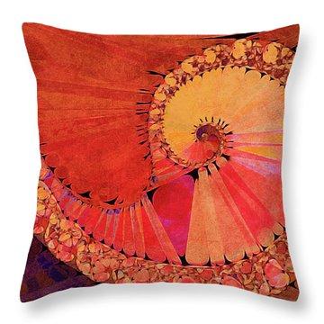 Deco Elemental Throw Pillow