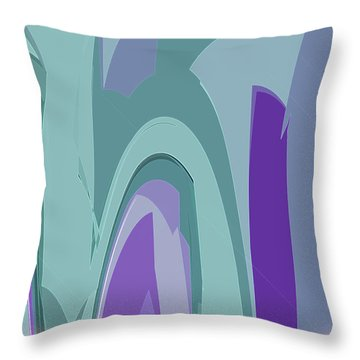 Deco Marquee Throw Pillow