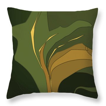 Deco Tile Throw Pillow