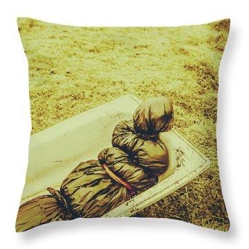 Human Body Throw Pillows