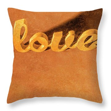Throw Pillow featuring the photograph Decorating Love by Jorgo Photography - Wall Art Gallery