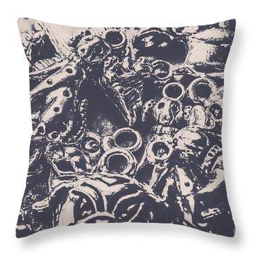 Decorative Dog Design Throw Pillow