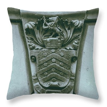 Decorative Keystone Architecture Details C Throw Pillow