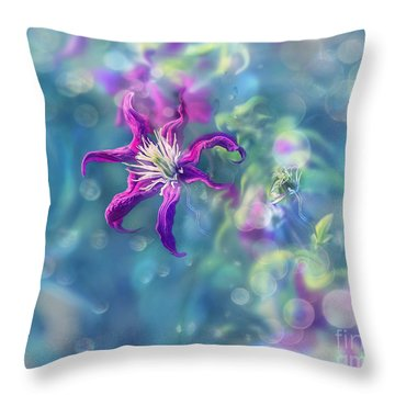 Dedicated To... Throw Pillow by Agnieszka Mlicka
