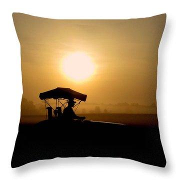 Dedication Of A Farmer Throw Pillow