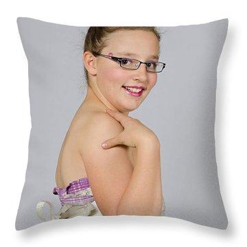 Deedee 2 Throw Pillow